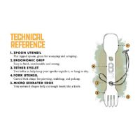 UCO Utility Spork - Twin Pack with Tether